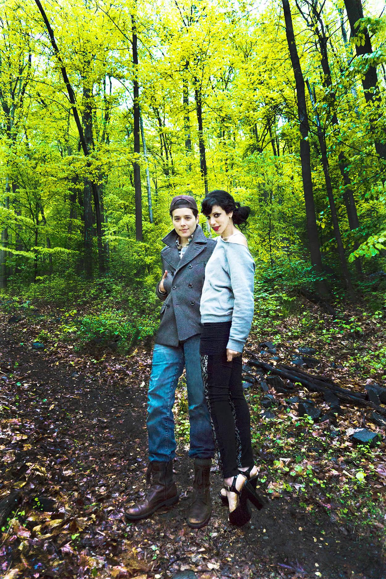 Claudia Lucas and Julia Diana Robertson