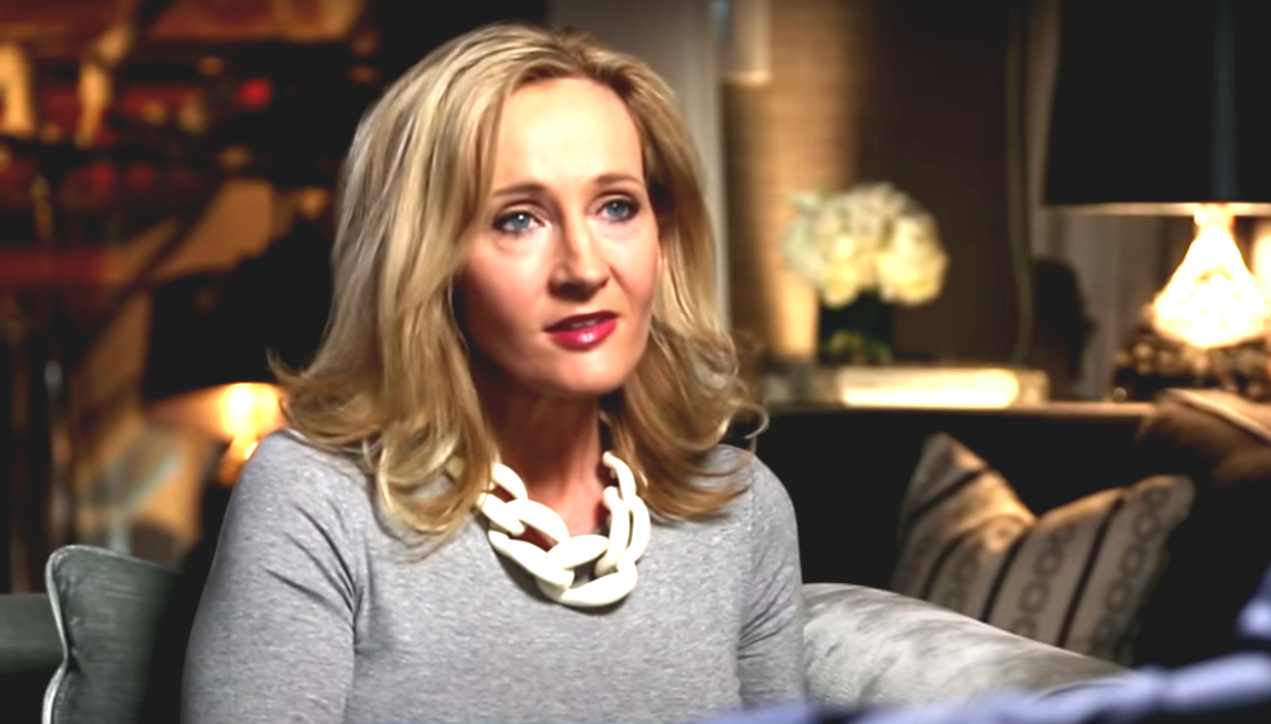 Screenshot: J.K. Rowling Today Interview