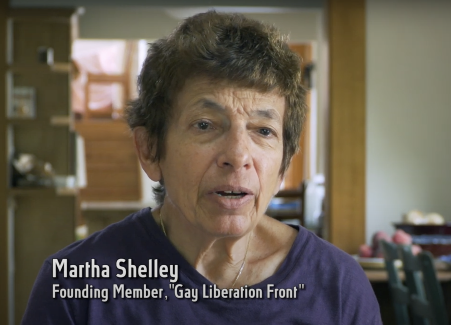 Martha Shelley, Founding Member, Gay Liberation Front